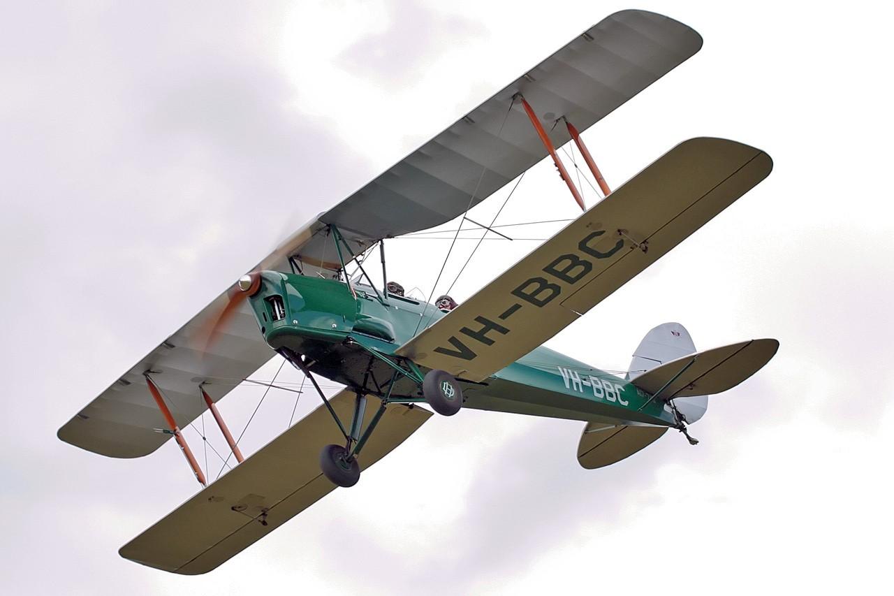 Tiger Moth Training